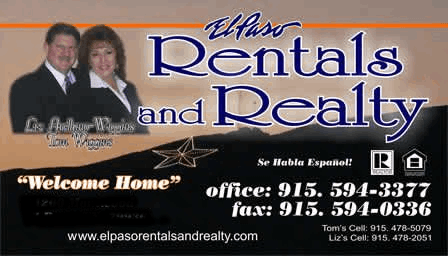 El Paso Rentals and Realty